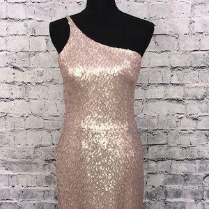 Dress The Population Matte Sequin Dress